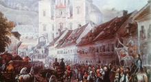 Kaiser Franz in Mariazell vor 1835